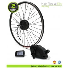 Kit Bicicleta Electrica EFF Fuerza  500W HT BS 48V 9Ah