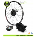 ELECTRIC BIKE KIT HIGH TORQUE EFF BASIC 250W HT 36V 8.7AH SADDLE BAG SAMSUNG CELLS 3C CE