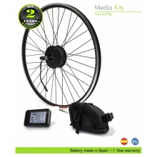 KIT ELECTRICO BICICLETA EFF GAMA MEDIA 250W HT BS  36V 11Ah
