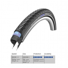 Covered Road AntiPuncture AR Schwalbe Marathon Plus