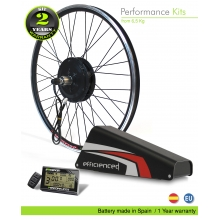 ELECTRIC BIKE KIT BPM HIGH TORQUE EFF M15 800W HT 52V 16.0AH ALUBOX BOTTLECAGE 01AM (PANASONIC) REAR OF CASSETTE