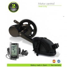 ELECTRIC BIKE KIT CENTRAL MOTOR BBS01 36V 350W. 36V 11.6AH SADDLE BAG (SAMSUNG 3C). OFF ROAD