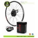 ELECTRIC BIKE KIT HIGH TORQUE EFF BASIC 250W HT 36V 8.8AH SEATPOST EFFICIENCED CELLS CE