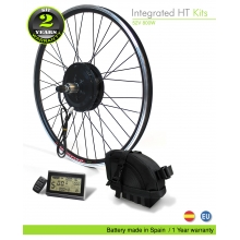 EFF ELECTRIC BIKE KIT. FORCE  HT CASSETTE BS 400W 36V 8,7Ah (3C)
