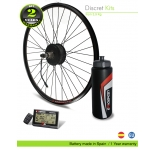 KIT ELECTRICO BICICLETA M15 EFF ULTRALIGHT 400W HSS 36V17.5AH (SANYO 3C) TRASERO. OFF ROAD