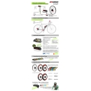 KIT ELECTRICO BICICLETA  EFF PERFORMANCE 400W HIGHT SPEED. BATERIA PORTABIDON HL50 CELDAS PANASONIC 36V 14.5 AH OFF ROAD