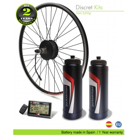 KIT ELECTRICO BICICLETA M15 EFF ULTRALIGHT 400W HSS, 36V 21.0AH BBD, TRASERO OFF ROAD