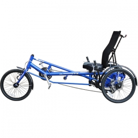 Trike Sun X-3 USX with electric Kit EFF Performance 400W 36V 11.6Ah