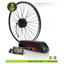 ELECTRIC BIKE KIT HIGH TORQUE EFF MIDDLE PLUS 250W HT 36V 17.0AH BOTTLE CAGE LG CELLS CE