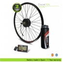 ELECTRIC BIKE KIT HIGH SPEED EFF ULTRALIGHT 400W HSS, 36V14.0AH BBD, BOTTLE CAGE REAR WHEEL. OFF ROAD
