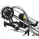 Montaje en Handbike Kit Efficience 36V 9Ah 25Km/h