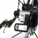 Montaje en Handbike Kit Efficience 350W 36V 11,6Ah 32Km/h