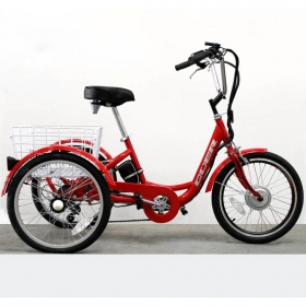 TRICYCLE ELECTRIC QÜER - EFFICIENCE 36V 8,8Ah