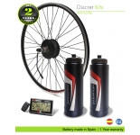 ELECTRIC BIKE KIT HIGH SPEED EFF ULTRALIGHT 400W HSS 36V 21.0 AH BOTTLE CAGE  (SANYO 3C) REAR WHEEL