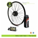 ELECTRIC BIKE KIT HIGH SPEED EFF CARBON 400W HSS, 36V10.5AH BBD, BOTTLE CAGE REAR WHEEL. OFF ROAD