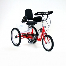 """Tricycle wheel 20"""" to a height over 130 cm"""